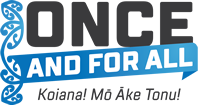 Once and For All logo