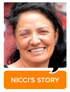 Click here to read Nicci's story